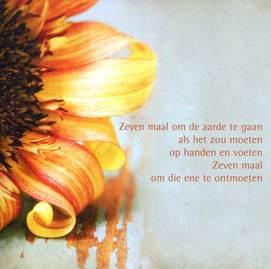 Abc Kaart En Repro Zeven Maal Om De Aarde Te Gaan Gedicht